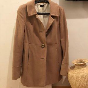 J.Crew Camel Coat